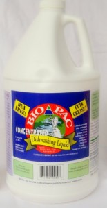 Biodegradable Bio Pac Concentrated Dishwashing Liquid